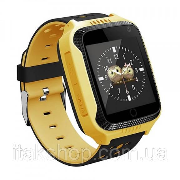 Детские умные часы Smart Baby Watch Q528 с GPS Yellow