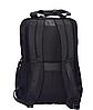 Рюкзак городской текстильный с отделом для ноутбука Leadfas черный, фото 2
