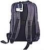 Рюкзак городской текстильный с отделом для ноутбука Leadfas черный, фото 6