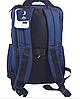 Рюкзак городской текстильный с отделом для ноутбука Leadfas черный, фото 4