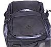 Рюкзак городской текстильный с отделом для ноутбука Leadfas черный, фото 7