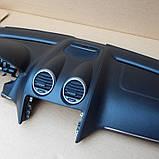 Панель передня Торпедо і подлокник Бардачок Mercedes GL X164, фото 6
