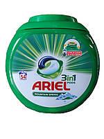 Гелевые капсулы Ariel PODS 3in1 54 шт
