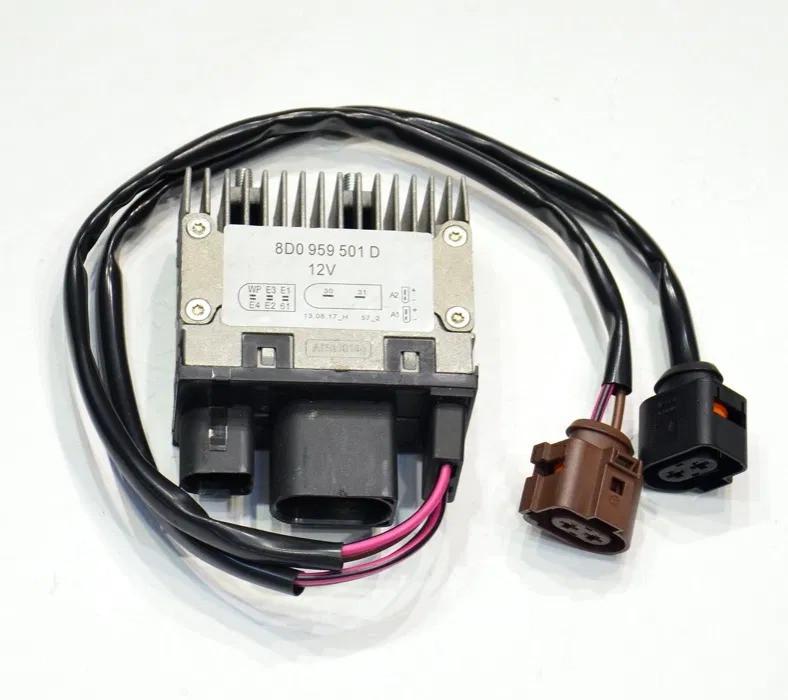 Блок управления вентилятором Audi a4 b5 a6 c5 8d0959501d