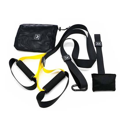 Тренировочные петли Maidi P3 Pro-1 Black + Yellow подвесные ремни для тренировок, фото 2