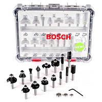 Набір комбінованих фрез Bosch (8 мм, 15 шт.) (2607017472)