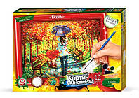 Картина по номерам  Осень  (320х230 мм) KN-01-04