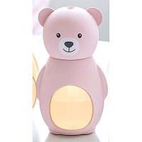 Увлажнитель воздуха Медведь 1178 Розовый
