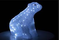 Светодиодное украшение Медведь Lumion 100 led для внутреннего использования акриловая белая колба