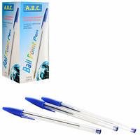 """Ручка шариковая для письма """"934"""" синяя, пластик, ручки, ручки шариковые, ручка шариковая синяя, наборы ручек, ручки для письма"""