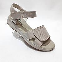 Женские босоножки, сандали летние на липучке, фото 1