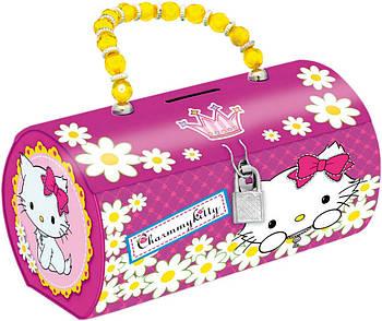 Копилка-сумочка металлическая 1 Вересня Чарммикитти (6909077039903)
