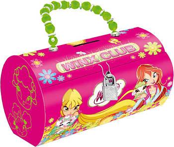 Копилка-сумочка металлическая 1 Вересня Винкс (6909077039910)