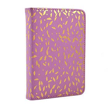 Недатированный ежедневник в твердом переплете YES Calma 352с А6 Фиолетовый (251988)