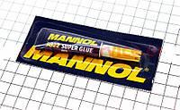 Супер-клей гелевый Mannol (клеит пластик, керамику, стекло и прочее)