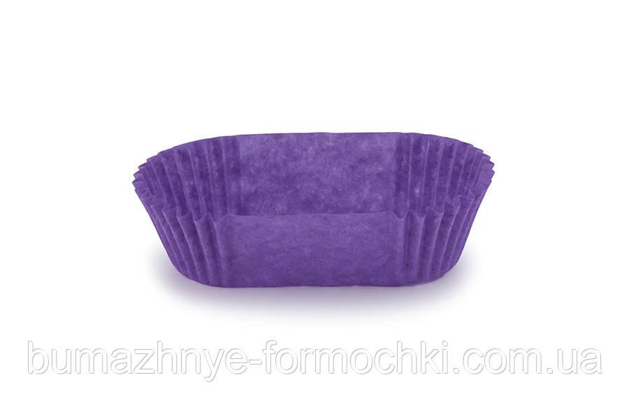 Фіолетова паперова форма П-8 (овальна)