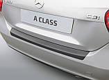 Пластикова захисна накладка на задній бампер для Mercedes-Benz A-Class W176 2015-2018, фото 2