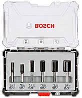Набір пазових фрез Bosch (8 мм, 6 шт) (2607017466)