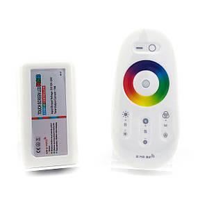 Контроллер BIOM 18А RF сенсорный Белый 12В RGB