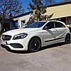 Молдинги на двері для Mercedes-Benz A-class W176 2013-2018
