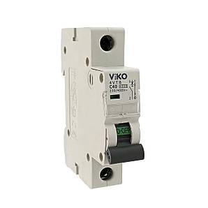 Автоматический выключатель VIKO 1P 10A 4.5кА 230/400В тип С