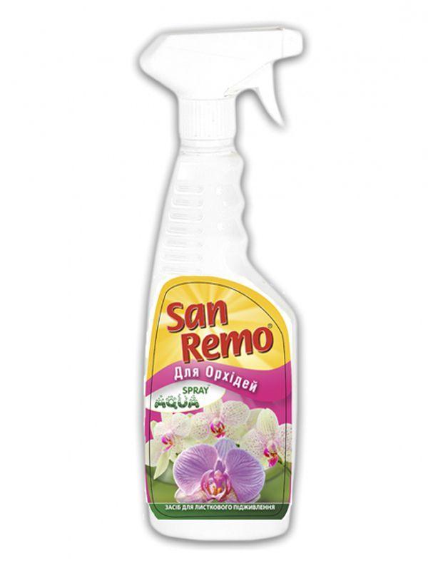 Добриво мінеральне San Remo Aqua Sprey Для Орхідей 0,5л