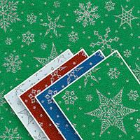 Бумага упаковочная Stenson Новогодняя размер 70х200см, Бумага для подарков, Бумага упаковочная, Крафт бумага