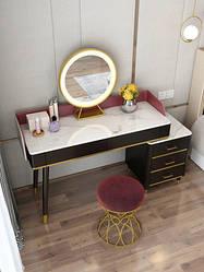 Туалетный столик, пуф, зеркало. Модель RD-9109