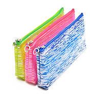 """Школьный детский пенал - косметичка """"Pencil case"""" размер 20х9х3см, разные цвета, пеналы, пенал школьный, пенал"""