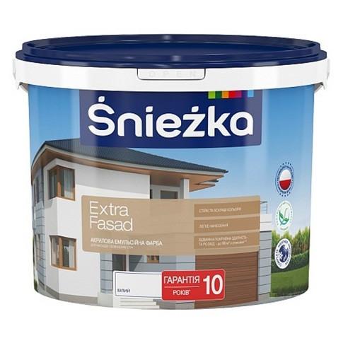 Фарба Sniezka ВЕ Extra Fasad 1,4кг (1л)