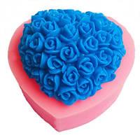 """Форма для мила Stenson """"Троянда"""" силіконова, розмір 7х6х3см, Авторські силіконові форми для мила, Силіконові форми для мила"""