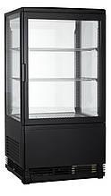 Вітрина холодильна GoodFood RT58L (чорна)