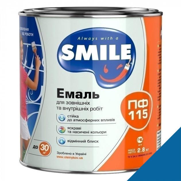Фарба Smile ПФ-115 електрик 2,8кг