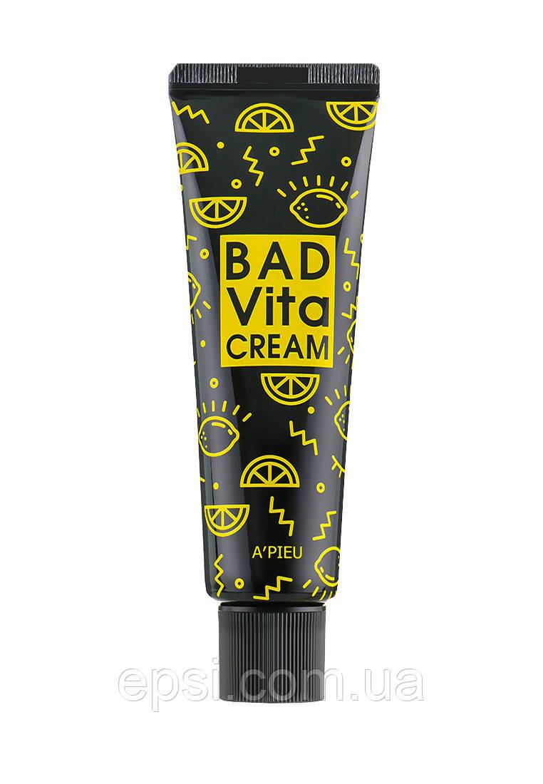 Крем для лица  витаминный Apieu Bad Vita, 50 гр