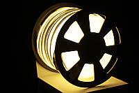 Уличный светодиодный шнур Неон-Флекс Lumion Neon-Flex 15х26 мм 81 LED/м.п. наружный цвет белый теплый, фото 1