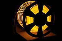 УУличный световой шнур Lumion 220V SMD NEON FLEX 15*26мм, 81 светодиода/м.п., 50м/ рул цвет желтый, фото 1