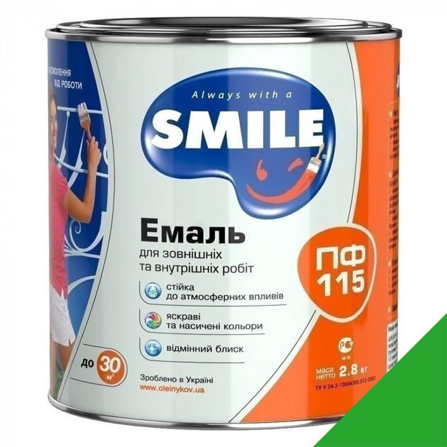 Фарба Smile ПФ-115 світло-зелена 2,8кг