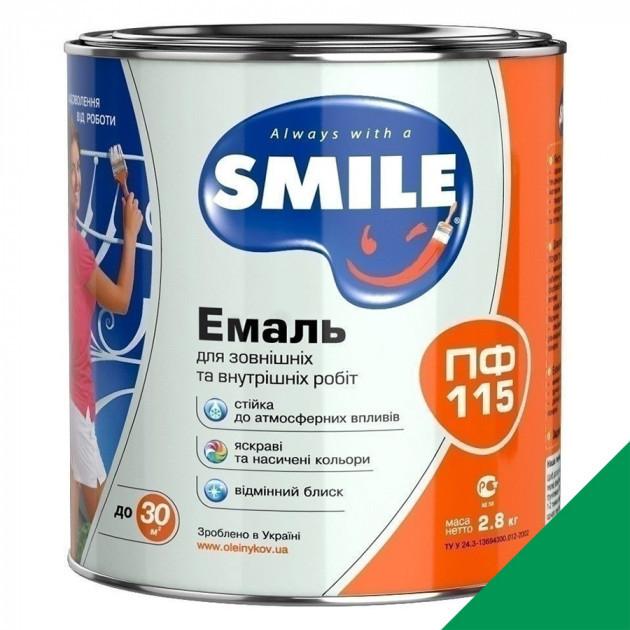Фарба Smile ПФ-115 смарагдова 2,8кг