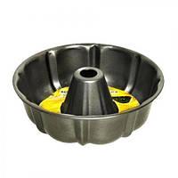 Форма для кекса Stenson размер d25,5х8,5см, круглая, черная, металл, формы для выпечки, посуда, силиконовая