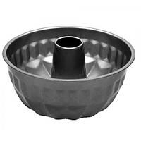 Форма для кекса Stenson размер d22*11см, круглая, черная, металл, формы для выпечки, посуда, силиконовая форма