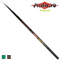 """Удочка безколечная """"Джокер Mikado"""" длина 4,8м, стекловолокно, 10-30г, разные цвета, 11к, удочки, удилище,"""