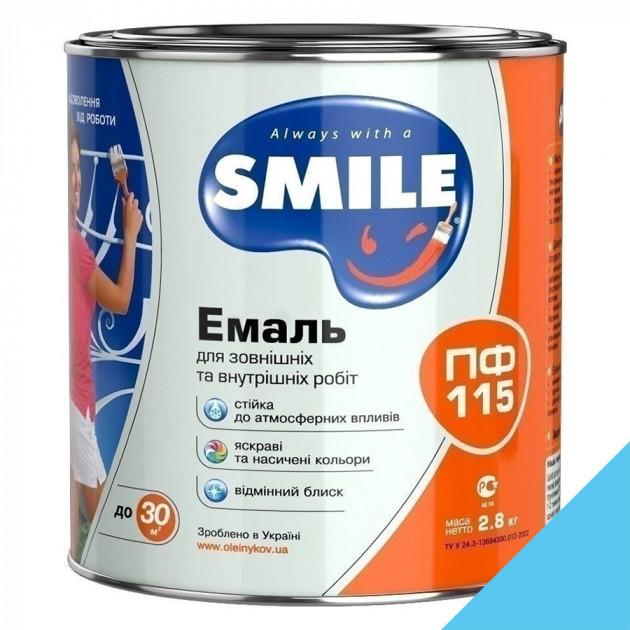 Фарба Smile ПФ-115 світло-голуба 0,5кг