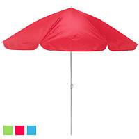 Літній пляжний зонт - система від сонця Ромашка різні кольори, 2.5 м, пляжний зонт, парасолька Ромашка