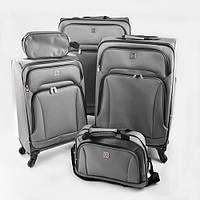 Чемодан дорожный на колесиках Stenson размер 20/24/28, в наборе 5шт, полиэстер, чемодан, сумка дорожная, сумки