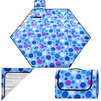 Універсальна підстилка для подорожей, пікніка Rosa різні кольори, 215х190см, покривала для пікніка, універсальний килимок