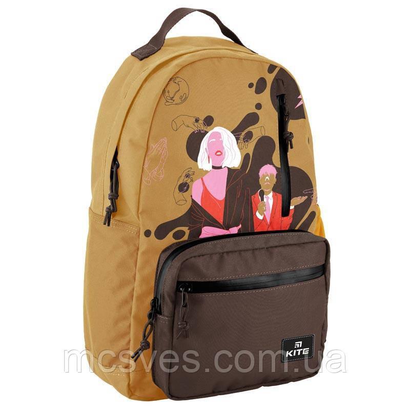 Рюкзак VIS19-949L-2, ущільнена спинка, надійні замки, 1 відділення, 3 передні, 1 внутрішня кишеня для ноутбука