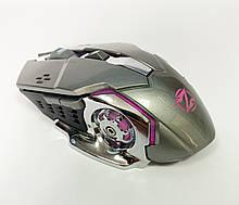Мышь аккумуляторная беспроводная бесшумная для геймеров с подсветкой ACETECH CH001