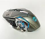 Мышь аккумуляторная беспроводная бесшумная для геймеров с подсветкой ACETECH CH001, фото 6