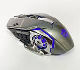 Мышь аккумуляторная беспроводная бесшумная для геймеров с подсветкой ACETECH CH001, фото 5