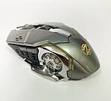 Мышь аккумуляторная беспроводная бесшумная для геймеров с подсветкой ACETECH CH001, фото 8